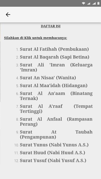 Al Quran Dan Arti Terjemahan Android Apps Appagg