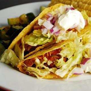 Crock Pot Chicken Ranch Tacos Recipe – 4 Points.
