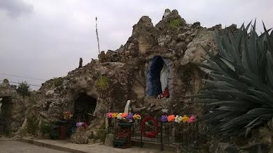 Photo: Lourdes replica - Rio Grande City
