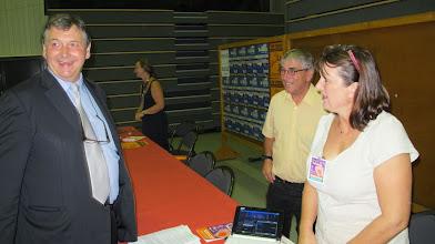 Photo: Visite de Philippe NAUCHE, député-maire de Brive