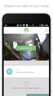 Cocoon -  Home security made simple.- screenshot thumbnail