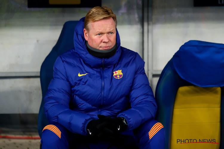 Le bilan catastrophique de Ronald Koeman à la tête du Barça