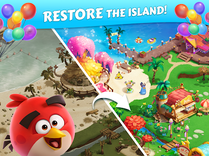 Angry Birds Blast Island Apk Mod Muitos Movimentos 7