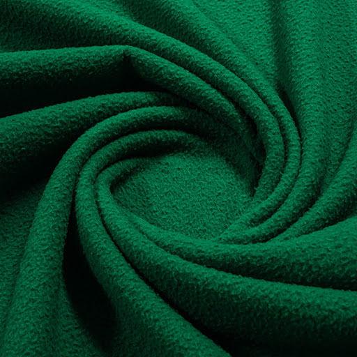 Borstad Ull - grön