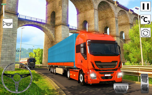 Euro Truck Simulator 3D: Top Truck Game 2020 APK MOD (Astuce) screenshots 4