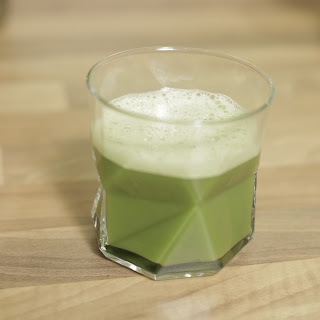 Fresh Matcha Orange Juice