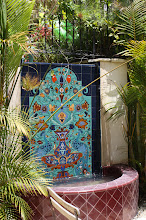 Photo: Peacock Mural- Fountain Private Residence- Pacific Palisades, CA
