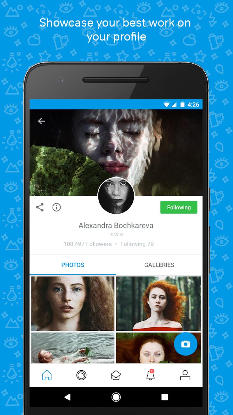 500px – Discover great photos Screenshot 1