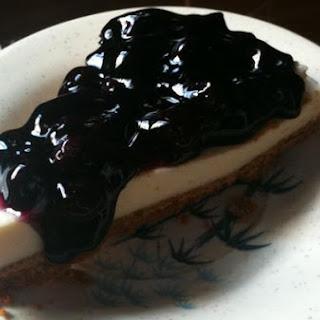Blueberry Cheesecake.