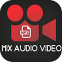 Mix Video and MP3 icon
