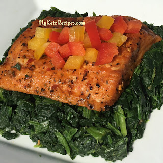 Keto Approved Easy Oven Baked Salmon.
