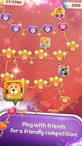 Sweet Hearts - Cute Candy Match 3 Puzzle  screenshots 5