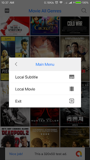 Screenshot for FREE FULL MOVIES 2019 in United States Play Store