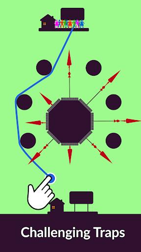 Zipline Valley - Physics Puzzle Game 1.7.1 screenshots 9