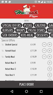 Hannah Pizza Liverpool Gratis