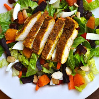 Moroccan Chicken Salad.
