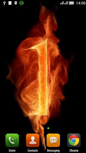 Fiery number one LWP