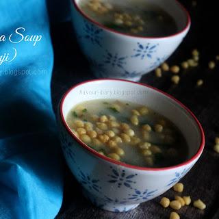 10 Minute Semolina Soup.