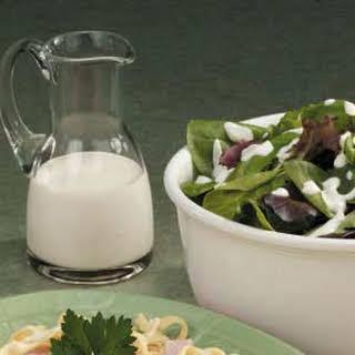 Sour Cream Salad Dressing.