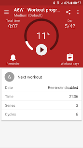 Abs workout A6W – flat belly at home 9.20.2 Android Mod APK 3