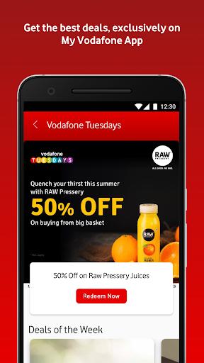 MyVodafone (India) - Online Recharge & Pay Bills screenshots 5