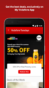 MyVodafone (India) - Online Recharge & Pay Bills Screenshot
