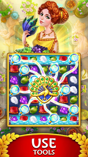 Jewels of Rome: Match gems to restore the city modavailable screenshots 2