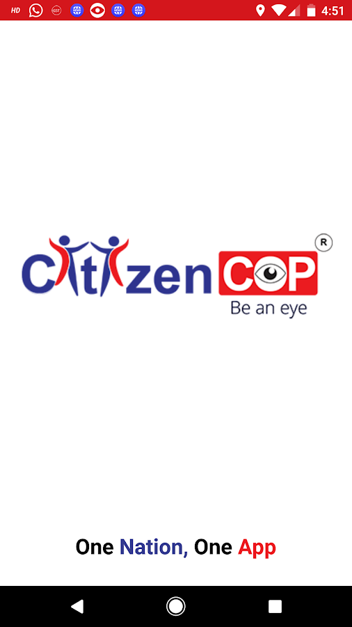 CitizenCOP- screenshot