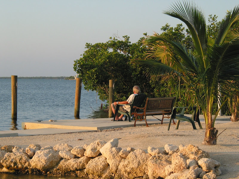 Photo: Fishing?  Or just Relaxing on the Dock!  More info about our vacation rental cottages at 