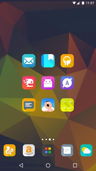 Aurora UI Square – Icon Pack v6.6