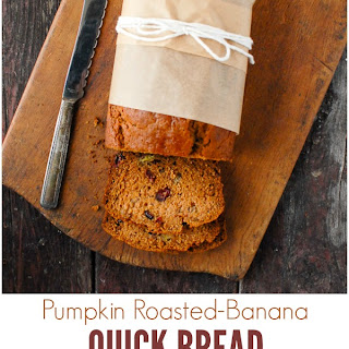 Pumpkin Roasted Banana Bread
