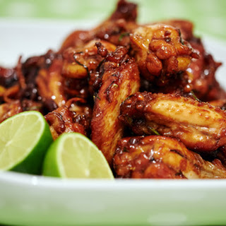 Spicy Ginger Lime Wings – Slow Cooker