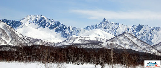 Photo: Terrains at Kamchatka can be significantly different - here is an area for expert skiers