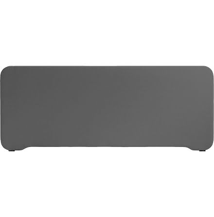 Bordsskärm Edge 1000x400mm grå