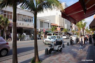 Photo: Kokusai Street in Naha