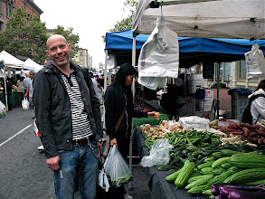 Photo: Armin at the Old Oakland Farmers Market