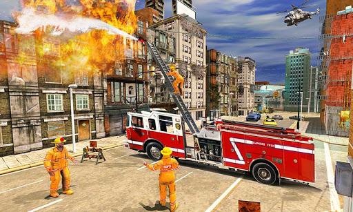 Fire Engine Truck Driving : Emergency Response 1.0.1 screenshots 1