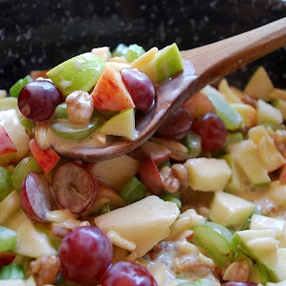 Crunchy Apple & Grape Salad.