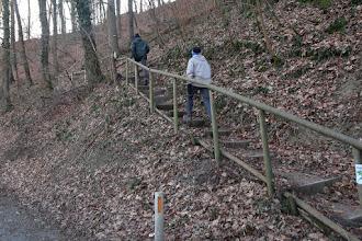 Photo: Et dire qu'avant, il n'y avait pas d'escaliers ni de rampe !