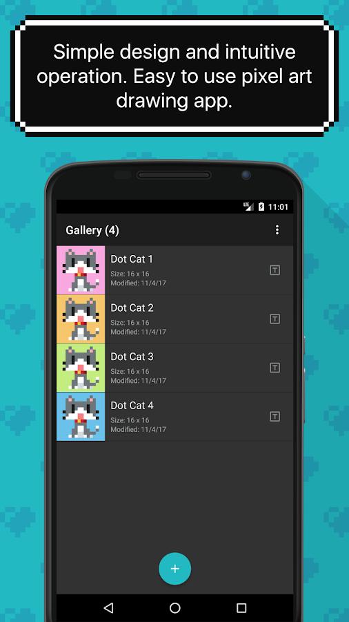 8bit Painter - Super Simple Pixel Art App - Android Apps ...