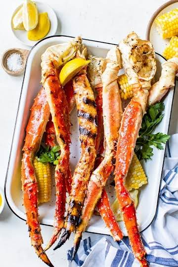 Grilled Crab Legs (King, Dungeness and Snow Crab Legs) - Skinnytaste