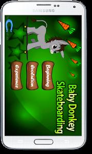 Baby Donkey Skateboarding screenshot 1