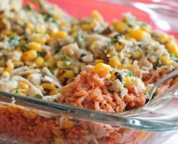 Gringo Roasted Corn-chicken-rice Casserole Recipe