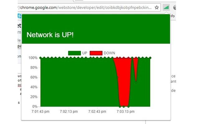 Network status indicator