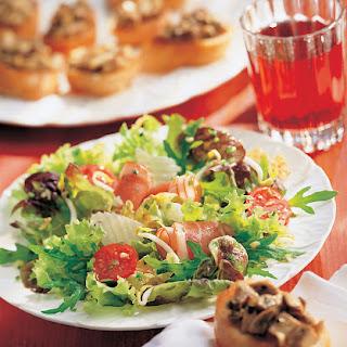Powersalat mit Rohschinken und Parmesan