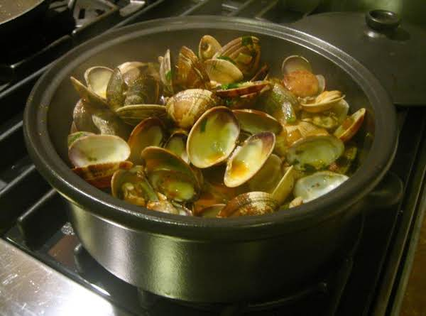 Pork And Clams -a Delicious Portugese Dish