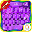 Neon Ultraviolet keyboard icon
