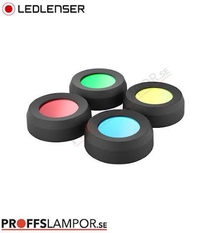 Tillbehör Ledlenser färgfilterset 36 mm