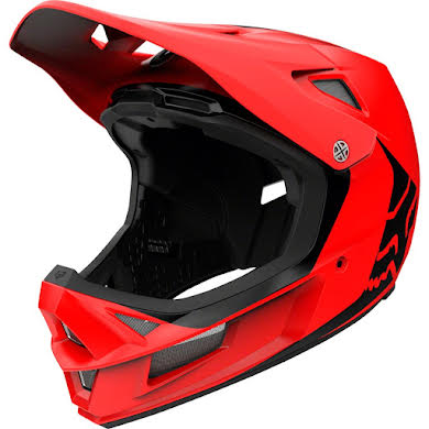 Fox Racing Rampage Comp Full Face Helmet - Bright Red, Small
