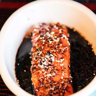 Teriyaki Salmon With Sesame Seeds Recipes.